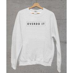 Overdo It Unisex California Sweater
