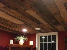 ceilings in old barn wood - Google Search