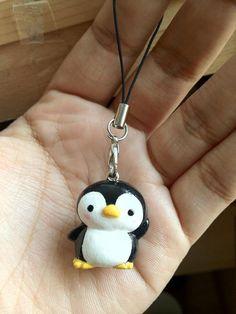 Kawaii Penguin Charm by mia831 on Etsy, $8.00