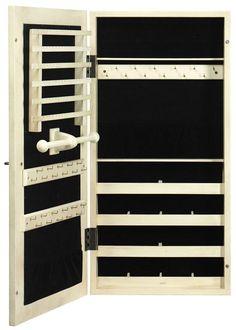 Wall Mirror Jewelry Storage wall mount jewelry armoire mirror 02 jewelry storage for small