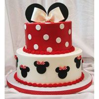 Minnie Mouse Birthday Cake! Can i have it for my birthday?