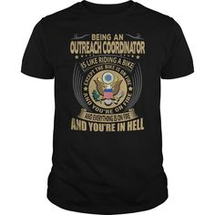 Being A Outreach Coordinator Is Like Riding A Bike And Everything Is On Fire T-Shirt, Hoodie Outreach Coordinator
