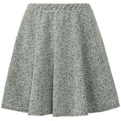 Grey Marble Skater Skirt ($9.94) ❤ liked on Polyvore featuring skirts, bottoms, flared skirt, grey skater skirt, gray skirt, marble skirt and gray skater skirt
