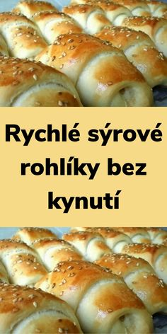 Empanadas, Bread Dough Recipe, Czech Recipes, Hot Dog Buns, Bagel, Food Videos, Food And Drink, Vegetarian, Menu