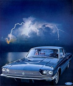 Ford Thunderbird 1966 - Mad Men Art: The 1891-1970 Vintage Advertisement Art Collection