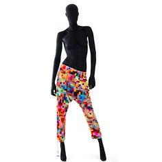 Pixel pants from Max Jenny. LOVE them!