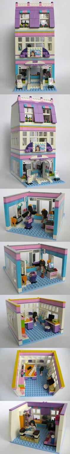 Lego Friends Beauty Shop MODs