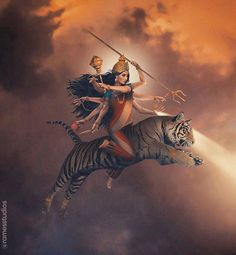 Lord Durga, Durga Maa, Shiva Shakti, Mahakal Shiva, Durga Painting, Lord Shiva Painting, Durga Images, Lord Shiva Hd Images, Kali Goddess