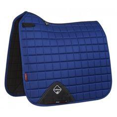 LeMieux Mesh Air Dressage Square - Benetton Blue - Saddlecloths & Pads - Saddlery - Tack | Equestrian Performance