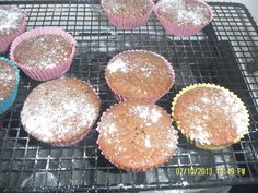 Chocolate, cinnamon and apple cakes perfect for bringing those Autumnal smells into your kitchen