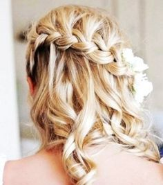 classy hair styles 64 best flower images hairstyle ideas easy hair 2803 | a2803ee142c941e31012b8a2a8ff5d15 dream wedding wedding stuff