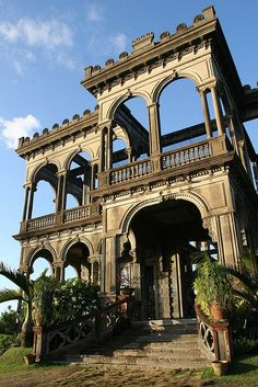 The Ruins at Talisay City, Philippines.  This mansion was built back in the early 1900
