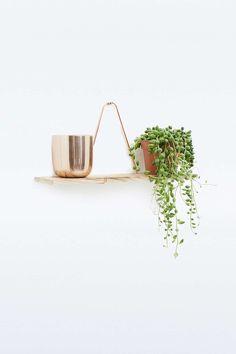 Copper Wire Shelf