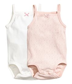 H&M 2-pack bodysuits - $14.99 (for both)