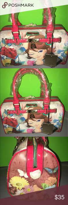 NICOLE LEE SUMMER BAG🌺🌺🌺🌺 BRAND NEW BAG BEAUTIFUL COMES WITH LONG STRAP Nicole Lee Bags Shoulder Bags