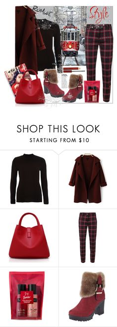 """""""Romwe"""" by natalyapril1976 on Polyvore featuring Mode, River Island, Cambio, Victoria's Secret und Kevyn Aucoin"""