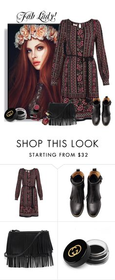 """...."" by elenb ❤ liked on Polyvore featuring Monsoon, White House Black Market and Gucci"