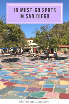 Looking for fun things to do in San Diego with friends and family? Here's a travel guide for you: top 15 must-go spots to explore in San Diego! San Diego Vacation, San Diego Travel, San Diego Beach, San Diego Zoo, San Diego Downtown, Shopping In San Diego, San Diego Balboa Park, Beaches In San Diego, Food In San Diego