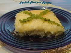 Middle Eastern Dessert Recipes Kunefe