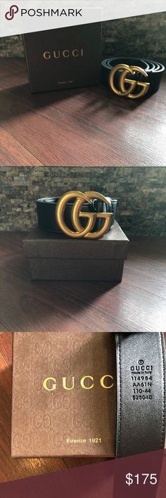 366057798bd Gucci Double G Belt Men s Gucci double G leather belt in beautiful  condition.
