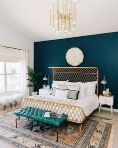Color pared dormitorio