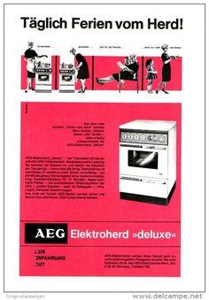 Original-Werbung/ Anzeige 1963 - AEG - ca. 160 x 230 mm