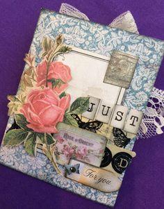 Madame Payraud demo card - memory pocket gift voucher - close ups to follow