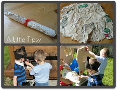 """Turn the children's book """"How I Became a Pirate"""" into a fun treasure hunt activity!"""