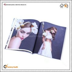 Glossy paper Adult coloring magazine printing with best quality in China