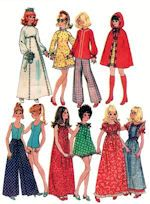 Sewing Pattern for Barbie Doll Clothes - sewing these patterns was an absolute adventure in sewing.
