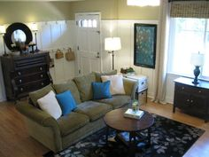 more board and batten. Omg....someone posted a picture of my living room from HGTV's Roomzaar website. Awesome!