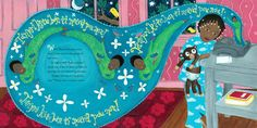 Illustration by Leslie Staub from 'Mama's Nightingale: A Story of Immigration and Separation' by Edwidge Danticat