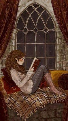 Ideas book and coffee illustration harry potter Harry Potter Art, Illustration, Hermione Granger, Harry Potter Fan Art, Reading Art, Art, Pictures, Book Art, Fan Art
