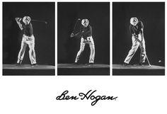 Ben Hogan New Golf Swing Sequence Strobe Light Photos | eBay