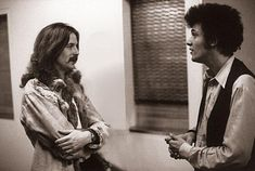 Eric Clapton and Michael Bloomfield