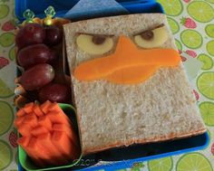 Bentos and More for kids  Agent P  Soo cool