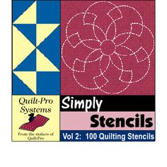 Quilt-Pro Systems - New! Simply Stencils Volume 2