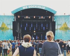In photos: MS Dockville Festival in Hamburg on As the Bird flies... Travel and Other Journeys