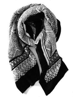 TRIBAL BLOCK SCARF - Cloth & Co.