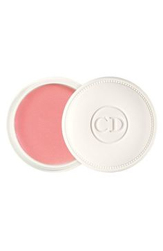 Dior 'Crème de Rose' Smoothing Plumping Lip Balm SPF 10 available at #Nordstrom