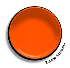 Resene Adrenalin is a razor sharp slice of fluoro orange for those who are bold and dynamic. Try Resene Adrenalin with stark blues, green blue tints or red purples, such as Resene Coast, Resene Half Cut Glass or Resene Full Monty. From the Resene The Range fashion colours 18. Latest trends available from www.resene.com/range18. Try a Resene testpot or view a physical sample at your Resene ColorShop or Reseller before making your final colour choice.