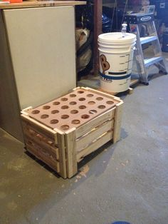 Beer crate and bottle drying rack