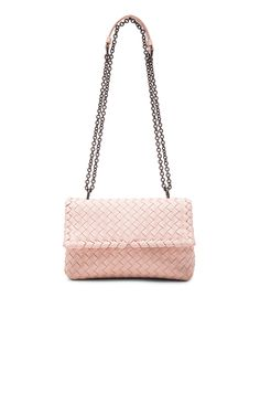 78bbd7d11c Bottega Veneta Baby Olimpia Chain Bag in Petale Bottega Veneta