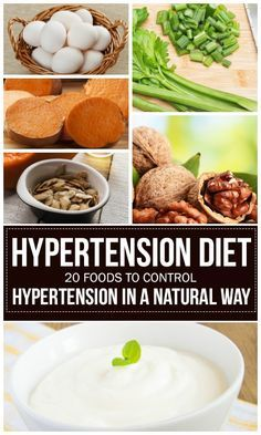 Hypertension Diet – 20 Foods To Control Hypertension In A Natural Way