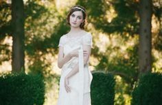 Bohemian bridal look inspired by Enchanted Atelier
