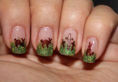 Easter nail art using Couture Gel Nail Polish! #easternails #nailart #easterdesigns