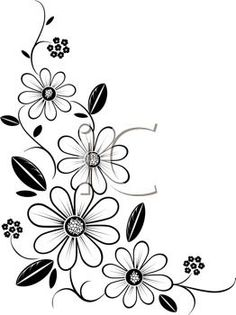 May flowers coloring page