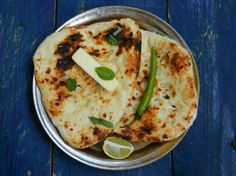 Butter and garlic Naan