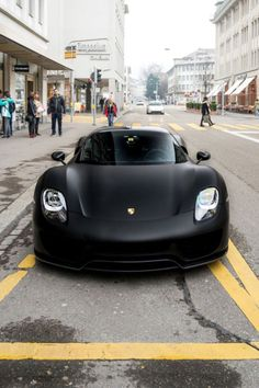 Mean looking Porsche