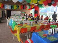 world cup / soccer birthday party decoration Soccer Birthday Parties, Football Birthday, Soccer Party, Birthday Party Decorations, 4th Birthday, Worldcup Football, Party Ideas, Soccer Birthday, Ideas Party